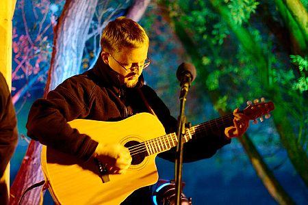 zdjęcia Koncert na barce Herbatnik<br>Warszawa 2008