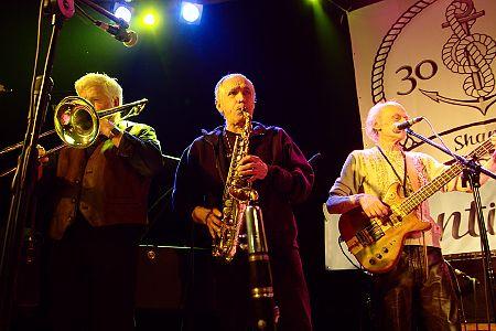 zdjęcia <b>Old Metropolitan Band</b> i Jurek Porębski<br>XXX Shanties, Kraków