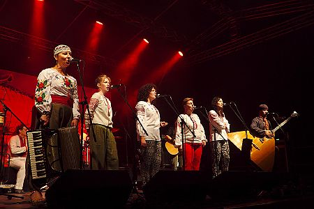 foto XIX Festiwal Wielu Kultur i Narodów <i>Z wiejskiego podwórza</i> Visegrad Wave in <b>Czeremcha</b> 2014