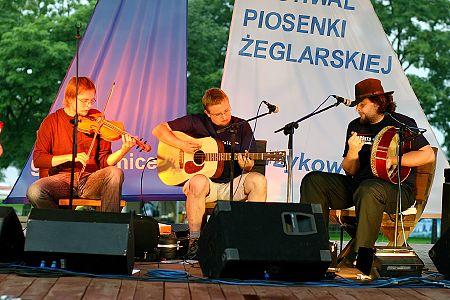 zdjĂŞcia <b>Fun Glass</b> i <b>Beltaine</b><br>Festiwal Piosenki Żeglarskiej, Charzykowy